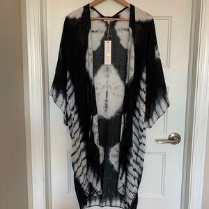 Woven Heart Kimono/duster